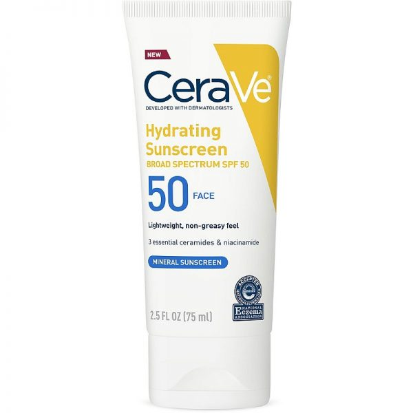 CeraVe Hydrating Sunscreen Face Lotion SPF 50